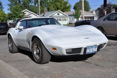 1973 Corvette Stingray Coupe Stock Images