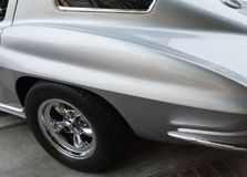 Corvette Stingray details stock photo