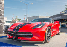 2015 Corvette at the Woodward Dream Cruise Stock Photos