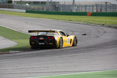 Corvette Z06 GT3 RACE CAR Stock Image