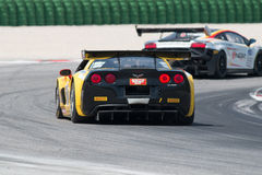 Corvette Z06 GT3 RACE CAR Stock Photography