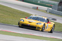 Corvette Z06 GT3 RACE CAR Stock Photos