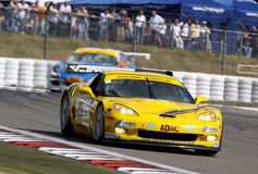 Corvette Z06.R GT3(ADAC GT Masters) Royalty Free Stock Photos