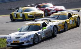 Corvette Z06.R GT3 (maîtres d'ADAC GT) Photos stock