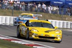 Corvette Z06.R GT3 (maîtres d'ADAC GT) Photos libres de droits