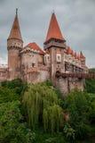 Corvin城堡,罗马尼亚 免版税库存照片