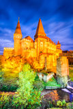 Corvin城堡-胡内多阿拉,特兰西瓦尼亚,罗马尼亚 免版税库存图片