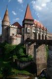 Corvin城堡 免版税库存照片