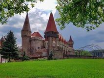 Corvin城堡 图库摄影