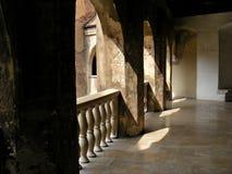 Corvin城堡hunedoara特兰西瓦尼亚哥特式huniazilor的历史 库存图片
