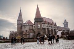 Corvin Castle σε Hunedoara Ρουμανία Στοκ φωτογραφία με δικαίωμα ελεύθερης χρήσης