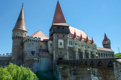 Corvin Castle, also known as Hunyadi Castle or Hunedoara Castle, in Romania Stock Image