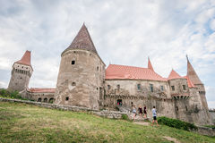 Corvin Castle, also known as Hunyadi Castle Royalty Free Stock Images
