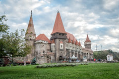 Corvin Castle, also known as Hunyadi Castle Stock Photo