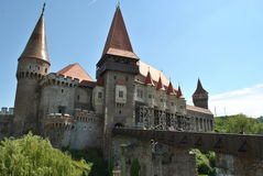 Corvin castle ! royalty free stock image