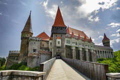 Corvin castle Stock Image