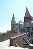 Corvin Castle Stock Photography