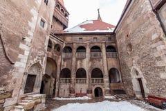 Corvin castle, Hunedoara Stock Photos