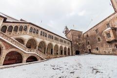 Corvin castle, Hunedoara Royalty Free Stock Photography