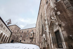 Corvin castle, Hunedoara Stock Image