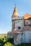 Corvin Castle in Hunedoara, Romania Stock Image