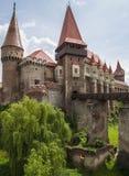 Corvin Castle in Hunedoara, Romania Royalty Free Stock Photo