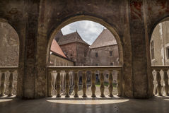 Corvin Castle in Hunedoara, Romania Royalty Free Stock Image