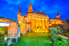 Corvin Castle - Hunedoara, Transylvania, Romania Stock Photo