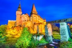 Corvin Castle - Hunedoara, Transylvania, Romania Stock Photography