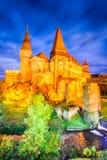 Corvin Castle - Hunedoara, Transylvania, Romania Royalty Free Stock Images