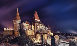 Corvin castle, Hunedoara Royalty Free Stock Photo
