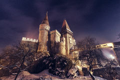Corvin castle, Hunedoara Stock Images