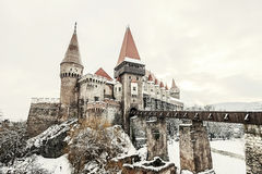 Corvin castle, Hunedoara Stock Photo