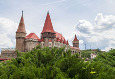 Corvin Castle or Hunyadi Castle in Hunedoara, Romania. Stock Photography