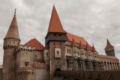Corvin Castle, Hunedoara, Romania Stock Photo