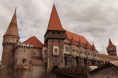 Corvin Castle, Hunedoara, Romania, Europe travel Stock Photo