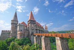 Corvin castle Royalty Free Stock Photography