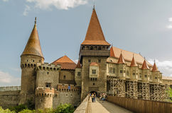 Corvin Castle Palace Stock Photos