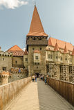 Corvin Castle Palace Stock Image