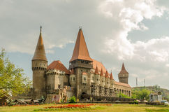 Corvin Castle Palace Stock Images
