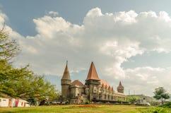 Corvin Castle Palace Stock Image