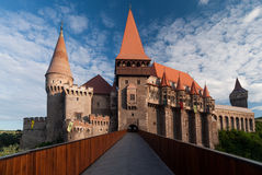 Corvin Castle, Romania Stock Photography