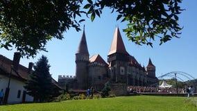 Corvin Castle Romania Stock Image