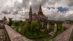Corvin Castle in Romania Royalty Free Stock Images