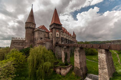 The Corvin Castle in Romania Royalty Free Stock Image