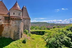 Corvin Castle, Romania Royalty Free Stock Photos