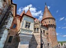 Corvin Castle, Romania Stock Images