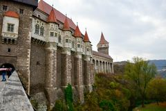 Corvin Castle, Romania royalty free stock photography