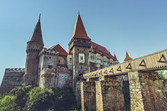 Corvin Castle, Romania Royalty Free Stock Images
