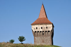 The Corvin castle, Romania Stock Image